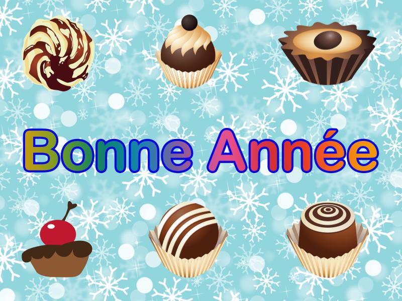 Bonne Année - Chocolat