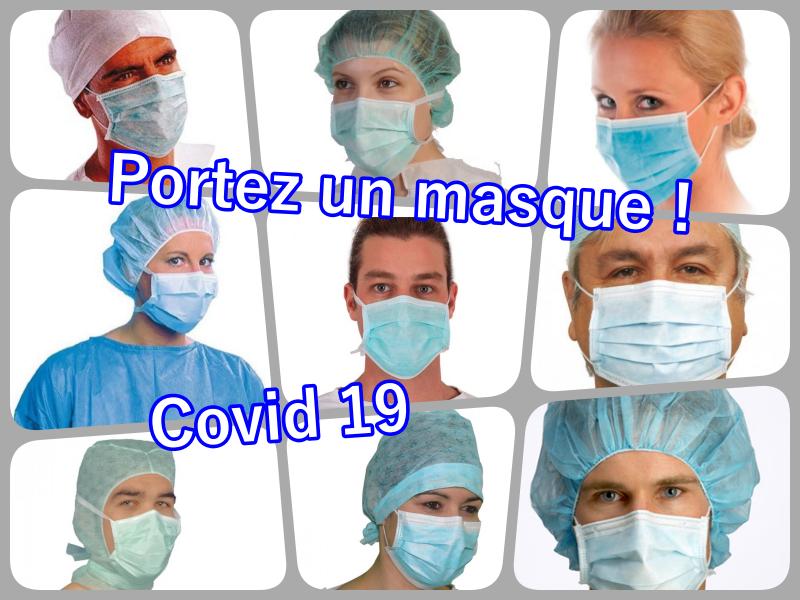 Covid 19 - portez un masque