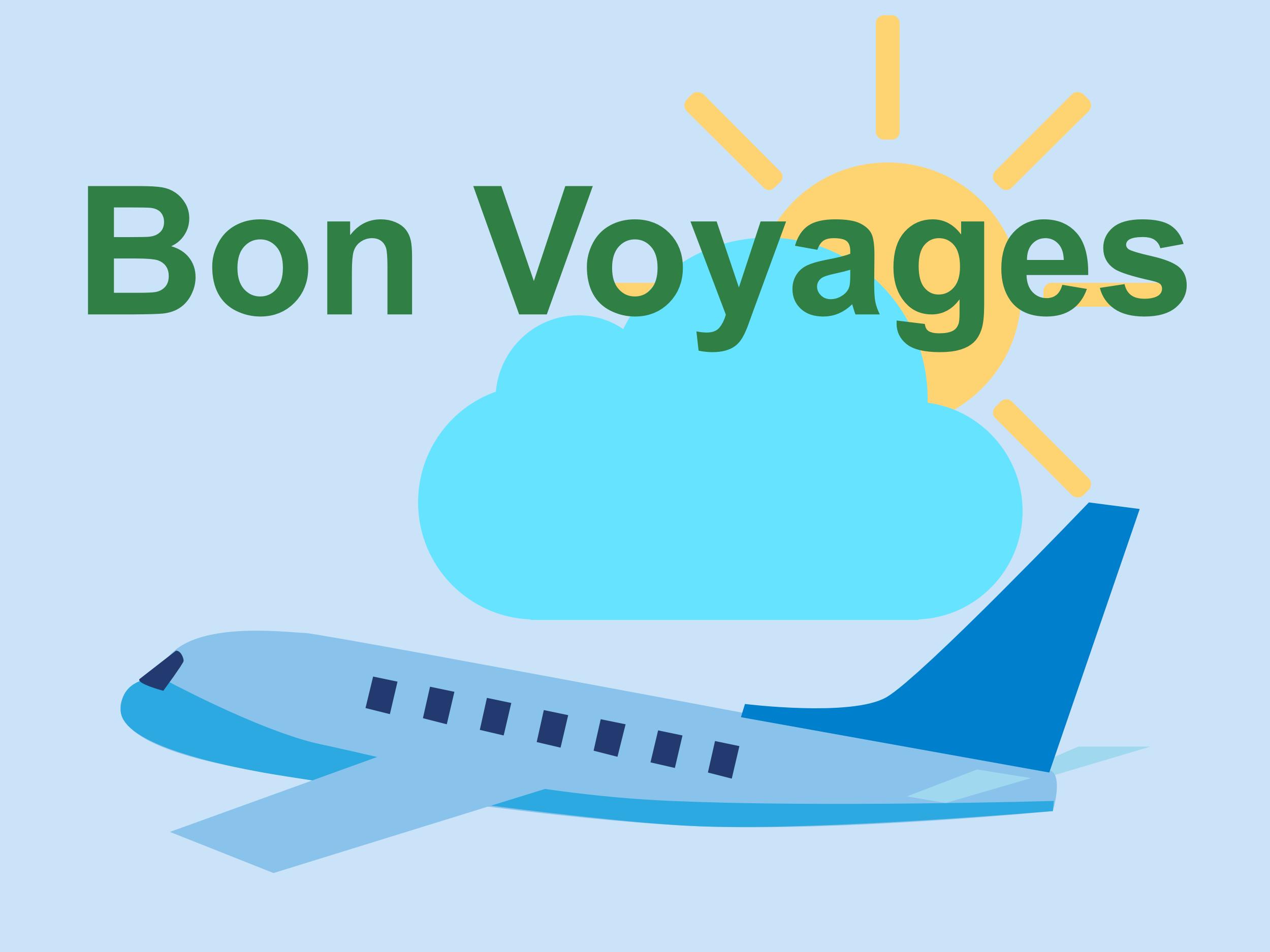 Bon voyages - Avion
