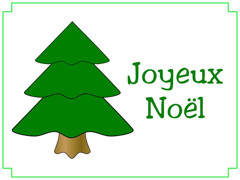 Joyeux Noël sapin