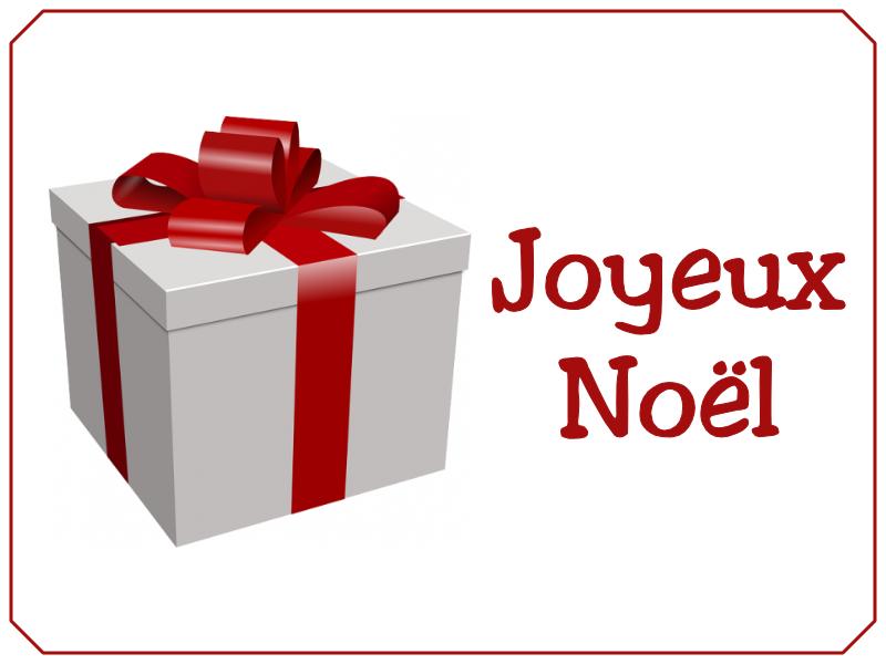 Joyeux Noël cadeau