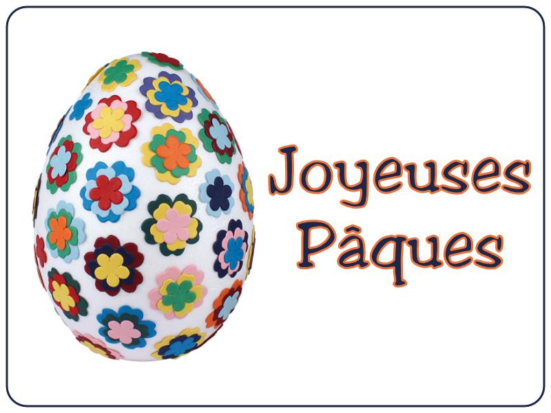 Joyeuses Pâques - Oeuf