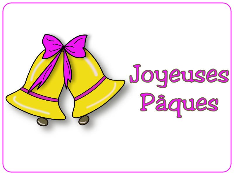 Joyeuses Pâques - Cloches