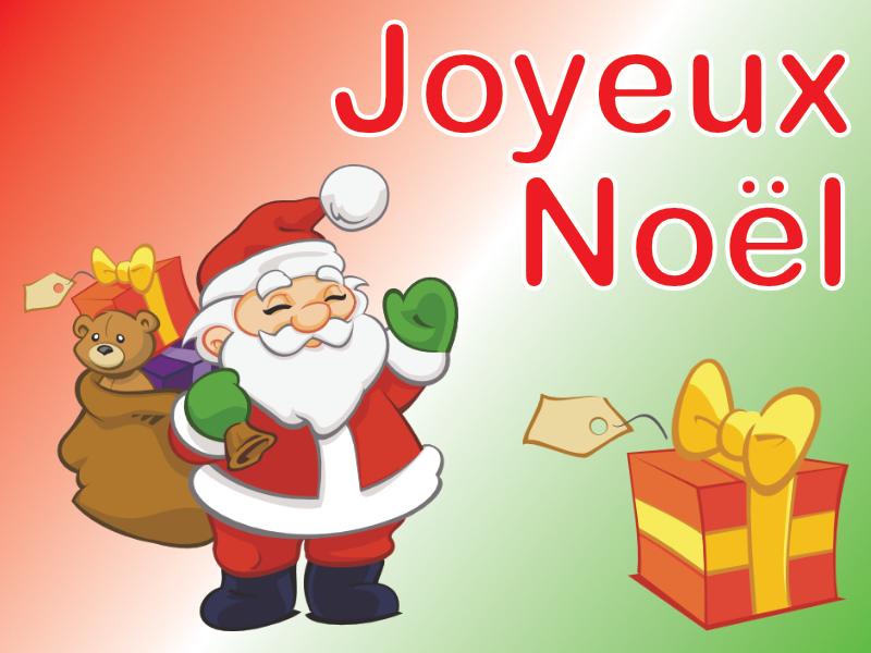 Père Noël et Cadeau